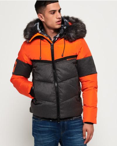 Emergency Chinook Jacke orange