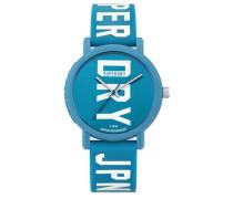 Damen Campus Fluro Block Armbanduhr blau