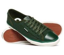 Damen Niedrige Pro Luxe Sneaker grün