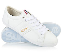 Herren Super Sleek Low-Top Turnschuhe weiß