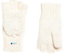 Damen Clarrie Handschuhe mit Ziernaht creme