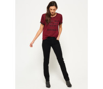 Damen Imogen Slim Jeans schwarz