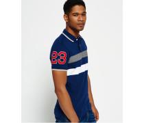 Herren Upstate Polo-Shirt marineblau
