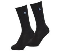 Herren SD University Socken im 2er-Pack dunkelgrau