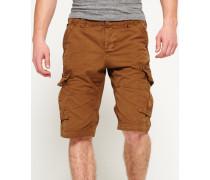 Herren Core Cargo Lite Shorts braun