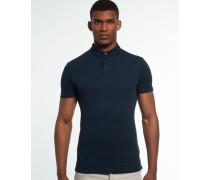 Herren Idris International Polo-Shirt blau
