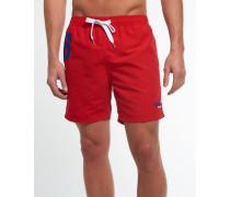Herren Premium Water Polo Shorts rot