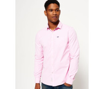 Herren Cut Away Collar Hemd pink