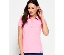 Damen Classic Polo-Shirt pink