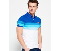 Herren Longbeach Polo-Shirt blau