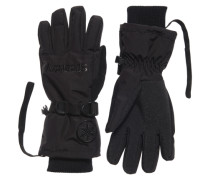 Damen Ultimate Snow Service Handschuhe schwarz