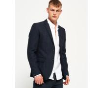 Herren Supremacy Blazer aus feiner Wolle marineblau