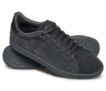 Herren Niedrige Sleek Tennis Premium Sneaker stahlgrau/dunkelgrau