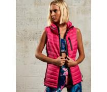Damen Sport Power Daunenweste pink