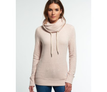 Damen Nordic Funnel Neck Shirt pink