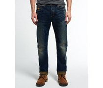 Herren Copperfill Loose Jeans marineblau