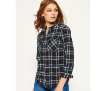 Damen Lumberjack Twill-Hemd grün