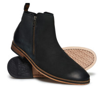 Herren Trenton Stiefel mit Reißverschluss schwarz