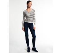 Damen Alexia Jegging Jeans dunkelblau