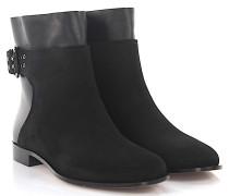 Stiefeletten Boots Major Flat Veloursleder Leder