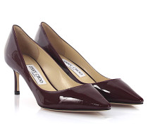 Pumps Romy 60 Lackleder bordeaux