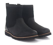 Stiefeletten Boots HENDREN Nubukleder Veloursleder finished Lammfell