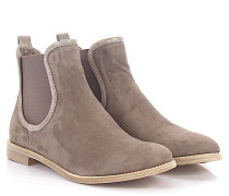 AGL Stiefeletten Boots D70650 Veloursleder taupe