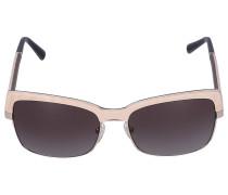 Sonnenbrille Wayfarer RIVIER 02 Holz cremeweiß
