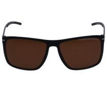 Sonnenbrille Wayfarer 8636 A Metall silber
