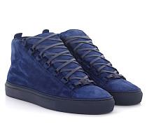 Sneaker Veau Effet High Veloursleder