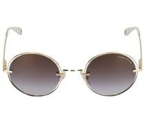 Sonnenbrille Round 198239 Metall gold