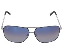Sonnenbrille Aviator KAMI 06A Titan Silber