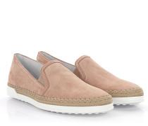 Sneaker Slip On J970 Veloursleder altrosa Bast