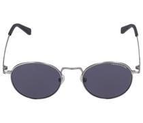 Sonnenbrille Round 127003 Metall silber