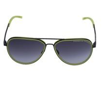 Sonnenbrille Aviator P8691 D 60/14 Metall schwarz