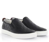 Sneaker Slip On CWCE0 Leder -Prägung