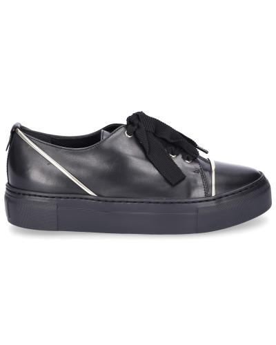 Sneaker low D925139 Glattleder