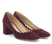 Pumps Lauren Veloursleder bordeaux