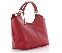 Dolce & Gabbana Shopper Sicily Hirschleder rot