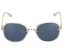 Sonnenbrille round 198200 Metall gold