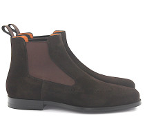 Chelsea Boots 15083 Veloursleder