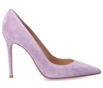 Pumps GIANVITO 105 Veloursleder flieder