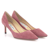 Pumps ROMY 60 Veloursleder rosé