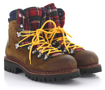 Stiefeletten Boots Saint Moritz Tartan Veloursleder finished