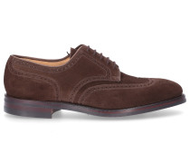 Businessschuhe Derby SWANSEA Veloursleder Lochmuster
