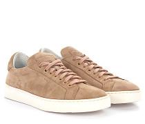 Sneaker Low 60164 Veloursleder beige rosé