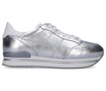 Sneaker low H222 Kalbsleder Logo