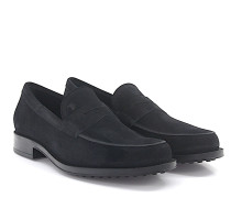 Loafer D00640 Veloursleder