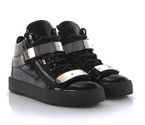 Sneakers High May London Lackleder
