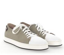 Sneaker 20599 Canvas Leder weiss